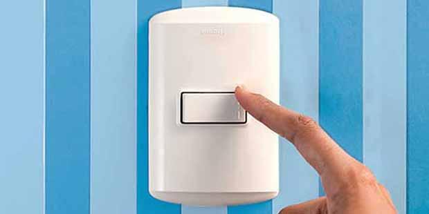 ahorro de energia apagar la luz