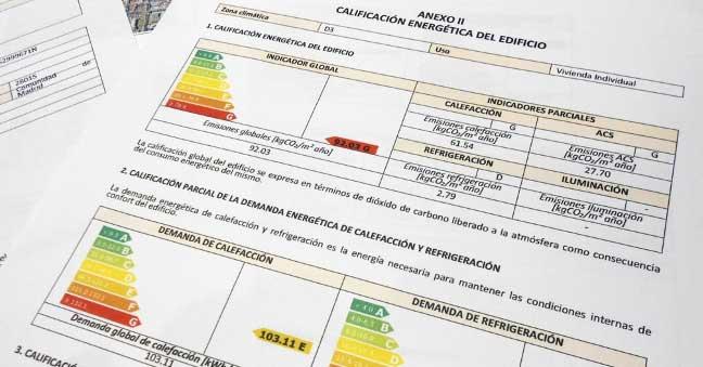 certificado energetico tramites