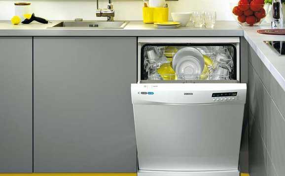 lavavajillas cocina vivienda eficiente