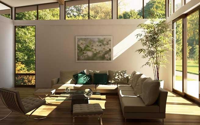 hogar luz natural